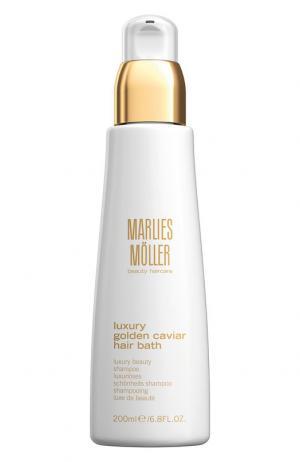 Шампунь для волос Luxury Golden Caviar Hair Bath Marlies Moller. Цвет: бесцветный