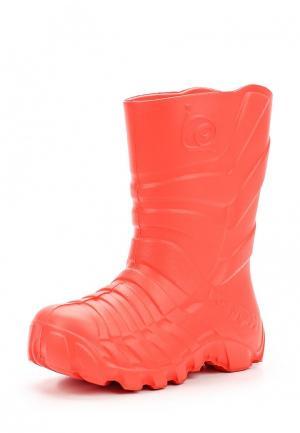 Резиновые сапоги Каури. Цвет: красный