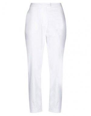 Повседневные брюки CACHAREL. Цвет: белый