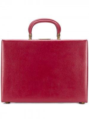 Портфель 1960-х годов Pierre Cardin Pre-Owned. Цвет: красный