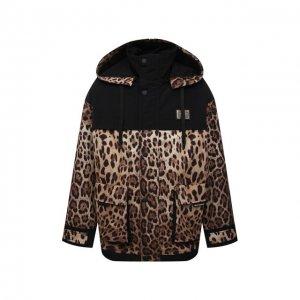 Куртка Dolce & Gabbana. Цвет: леопардовый