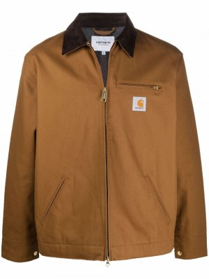 Куртка с нашивкой-логотипом Carhartt WIP. Цвет: коричневый
