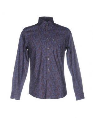 Pубашка BEN SHERMAN. Цвет: фиолетовый