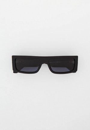 Очки солнцезащитные Matrix с поляризационными линзами, MT8666. Цвет: черный