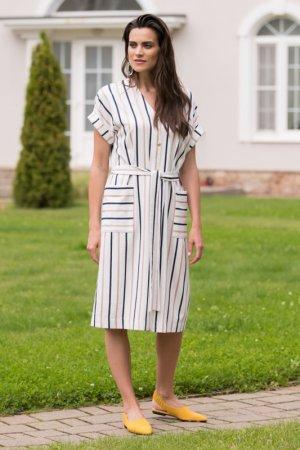 Платье женское Laete. Цвет: белый