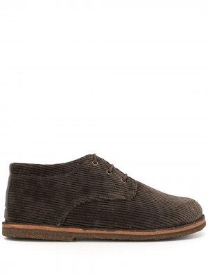 Вельветовые ботинки дезерты UNDERCOVER. Цвет: зеленый