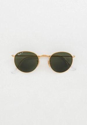 Очки солнцезащитные Ray-Ban® RB3447 001/58. Цвет: золотой