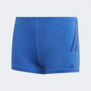 Плавки-боксеры Pro 3-Stripes Performance adidas. Цвет: синий