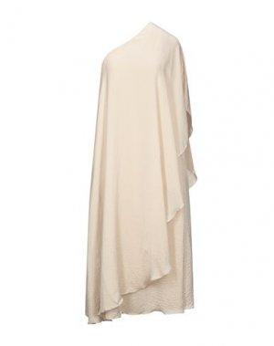 Платье длиной 3/4 DRY LAKE.. Цвет: бежевый