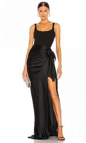 Вечернее платье marian Cinq a Sept. Цвет: черный