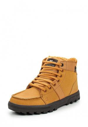 Ботинки DC Shoes WOODLAND. Цвет: коричневый