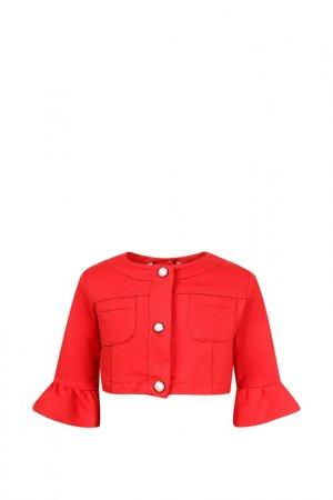 Болеро ELSY. Цвет: красный