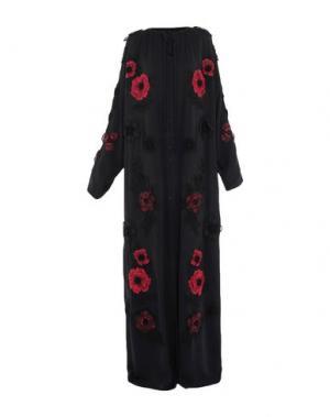 Длинное платье DOLCE & GABBANA. Цвет: черный