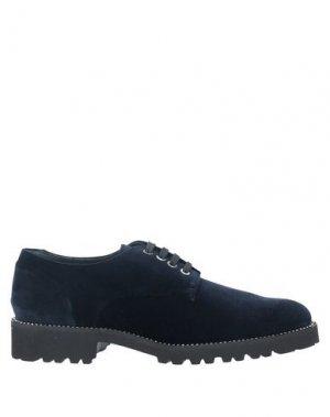 Обувь на шнурках EVALUNA. Цвет: темно-синий