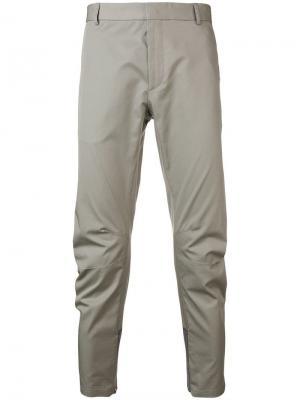 Классические брюки чинос Lanvin. Цвет: серый