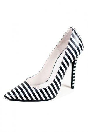 Туфли JEFFREY CAMPBELL. Цвет: черный, белый