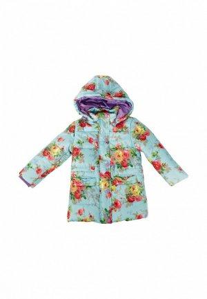 Куртка утепленная Born. Цвет: бирюзовый