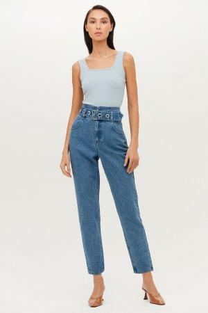 Брюки джинсовые Love Republic. Цвет: 103, индиго