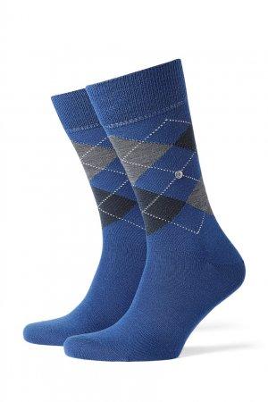 Синие шерстяные носки Edinburgh Burlington. Цвет: голубой