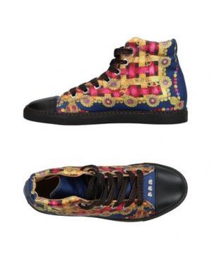 Высокие кеды и кроссовки ALOUETTE. Цвет: черный