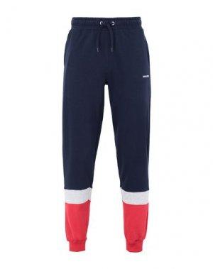 Повседневные брюки DEDICATED.. Цвет: темно-синий