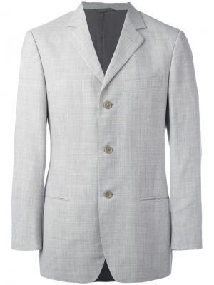 Классический пиджак Romeo Gigli Pre-Owned. Цвет: серый