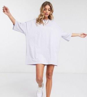 Лавандовое платье-футболка эксклюзивно для ASOS-Фиолетовый Puma