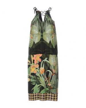 Платье длиной 3/4 CLIPS. Цвет: зеленый