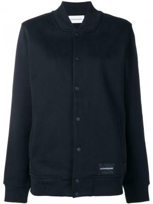 Куртка-бомбер с логотипом Ck Jeans. Цвет: черный