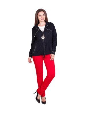 Куртка LAFEI-NIER. Цвет: черный