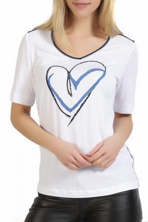 T-shirt Apanage. Цвет: белый