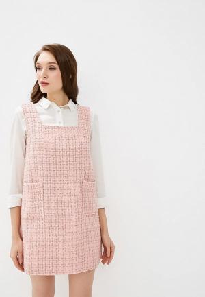 Платье AlexandraKazakova 1551Р. Цвет: розовый