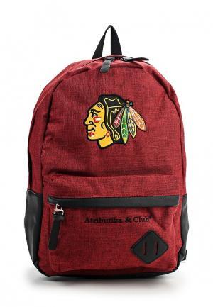 Рюкзак Atributika & Club™ NHL Chicago Blackhawks. Цвет: бордовый