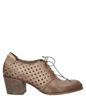 Обувь на шнурках CORVARI. Цвет: песочный