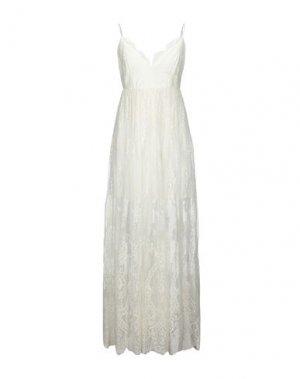 Длинное платье ANIYE BY. Цвет: белый