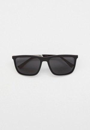 Очки солнцезащитные Emporio Armani EA4150 506387. Цвет: черный