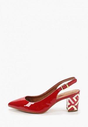 Туфли Indiana. Цвет: красный