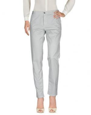 Повседневные брюки BASIC. Цвет: небесно-голубой
