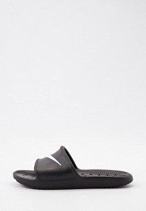 Сланцы Nike KAWA SHOWER (GS/PS). Цвет: черный