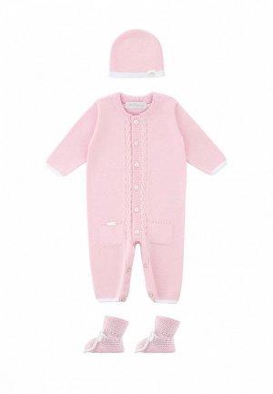 Комплект детский Míacompany. Цвет: розовый