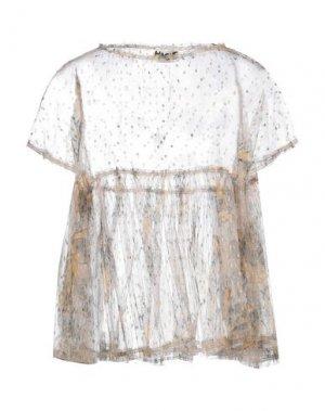 Блузка HACHE. Цвет: охра