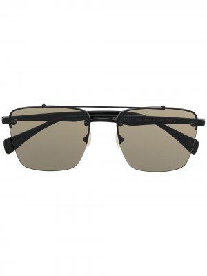 Солнцезащитные очки YS7 Yohji Yamamoto. Цвет: черный