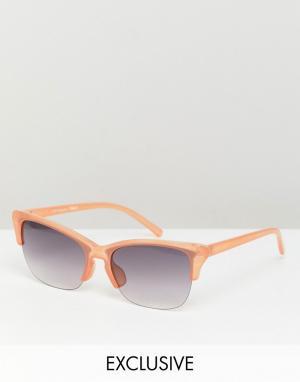 Солнцезащитные очки в стиле ретро inspired-Коричневый Reclaimed Vintage