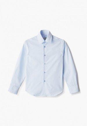 Рубашка Colletto Bianco. Цвет: голубой