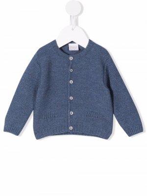 Button-down knit cardigan Paz Rodriguez. Цвет: синий