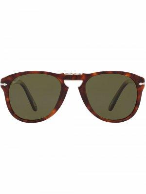 Солнцезащитные очки 714 Steve McQueen Persol. Цвет: зеленый