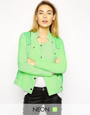 Куртка Sisi American Retro. Цвет: apple