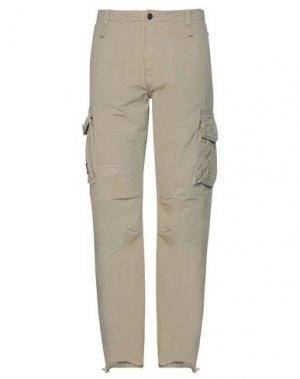 Повседневные брюки FRANKLIN & MARSHALL. Цвет: бежевый