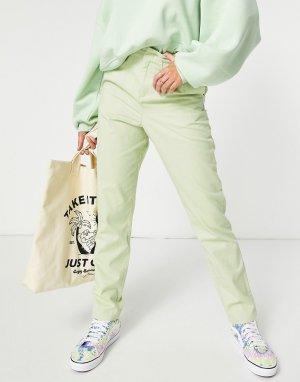 Узкие брюки-галифе яблочно-зеленого цвета (от комплекта) -Зеленый цвет ASOS DESIGN