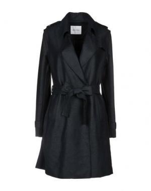 Пальто AMERICAN VINTAGE. Цвет: темно-синий